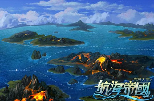 领略深蓝魅力《航海帝国》岛屿原画鉴赏