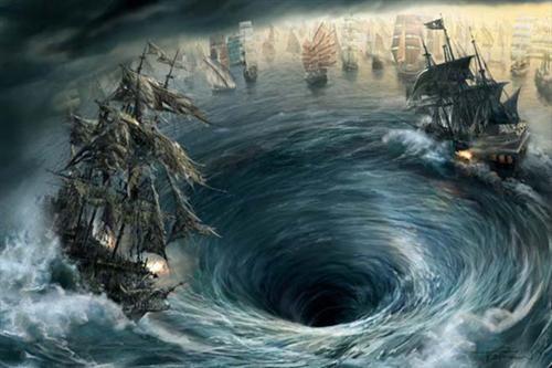 深海人鱼,幽灵船未解之谜