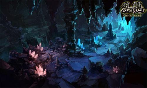 q版游戏森林场景