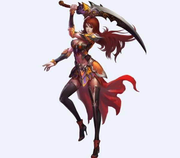 霸域战神女