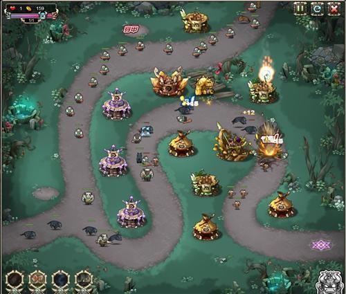 超人气塔防游戏《部落守卫战》今日开启公测