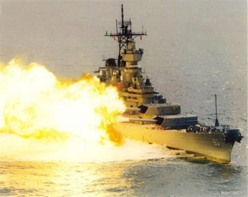 """""""密苏里""""号战列舰为美国海军""""依阿华""""级战列舰中的"""