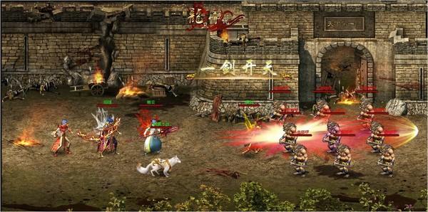游戏介绍:U7U8斗破沙城游戏以升级打装备结实兄弟为游戏主要玩法