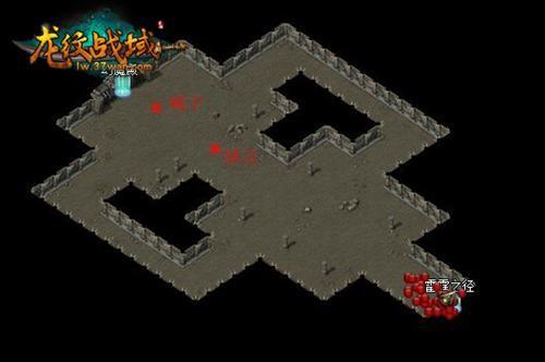 传世道士炼狱地图