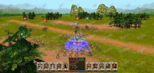 战斗系统 《创图三国》采用全3d战斗模式,武将士兵动作逼真,沙盘战场
