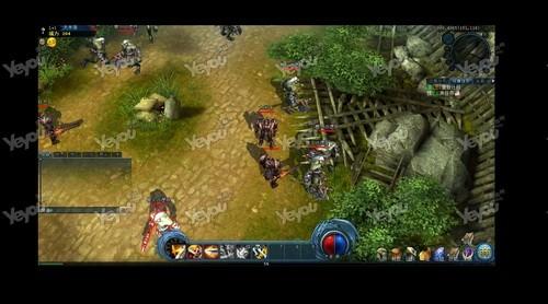 3D魔幻独家页游《龙族城区2》玩法特色即时首望热血ui设计培训图片