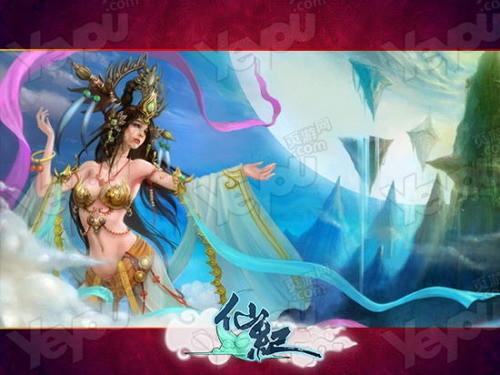 古风仙侠美女手绘壁纸