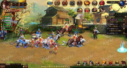 让玩家从游戏中的场景,角色模型,画面和ui图标中,体会到新时代的唯美图片