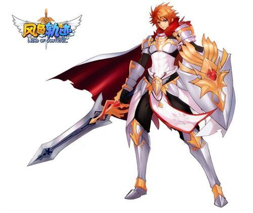 听说这位白银骑士在凭借这身铠甲在游戏中可是以一敌百哦!