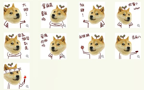 柴犬doge头像