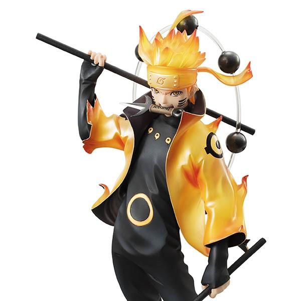 《火影忍者》六道仙人鸣人手办 最强力量爆发