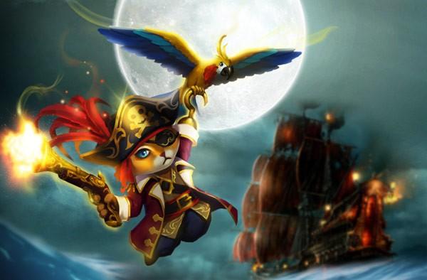 《女神联盟2》战宠海盗猫